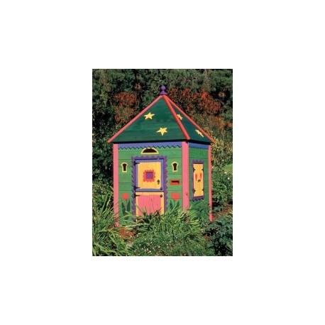 Детска дървена къщичка