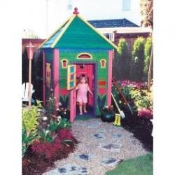 Детска дървена къщичка 2