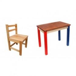 Маса със столче комплект