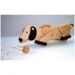 Дървено кученце