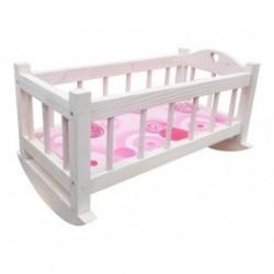 Легло за кукли - бяло